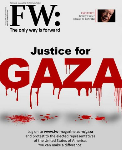 Forward Magazine January 2009 cover, Syria